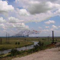 монстр атакующий посёлок энергетиков, Александровская