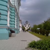 вид на собор, Александровская