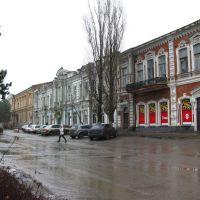 Старые дома на проспекте Платова, Александровская
