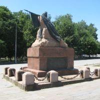 Памятник Я.П. Бакланову, Александровская