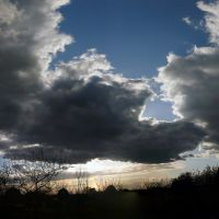 небо, Бокситогорск