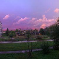 закат, Бокситогорск