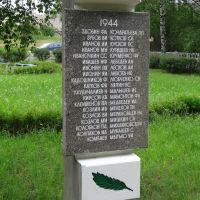 Вечная Вам память!, Бокситогорск