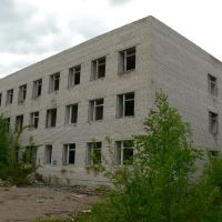 Бывшая казарма, Большая Ижора