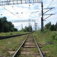 Будогощь - Железная дорога, Будогощь