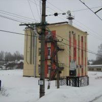 Непонятное здание, Будогощь