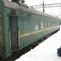 """Поезд """"Хвойная-Будогощь"""", Будогощь"""