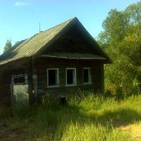 Заброшенный дом на берегу Острочинного озера, Будогощь
