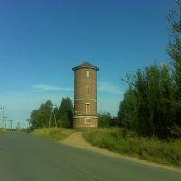 Водонапорная башня у железной дороги, Будогощь