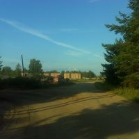 На подъезде к Будогощи, Будогощь