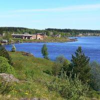 Вид с Финской горы, Вознесенье