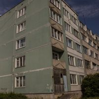 Дом с деревянным углом / House with wooden edge, Волосово