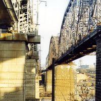 старые ЖД мосты, Волхов
