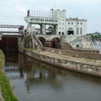 г. Волхов.   ГЭС.  2008, Волхов