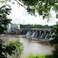 Волховская гидроэлектростанция, Волхов