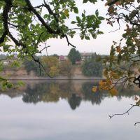 Volkhov River in Volkhov, Russia, Волхов