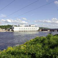 Volhov. Dam / г. Волхов. Плотина, Волхов