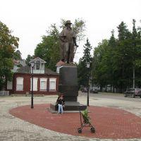 Памятник В.А. Всеволожскому, установлен в 2009, Всеволожск