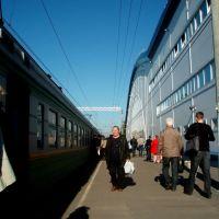 """Vsevolozhskaya"" Railway Station / ЖД станция ""Всеволожская"", Всеволожск"