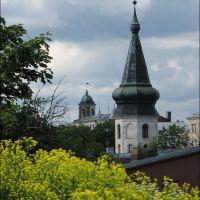 Vyborg. Two towers., Выборг