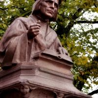 bust of Michael Agricola. Vyborg, Выборг