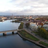 Panorama of Vyborg. Панорама Выборга, Выборг