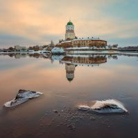 Vyborg : castle, a tower & a couple of stones, Выборг