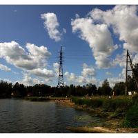 Пляж у ГЭС, Вырица, Вырица