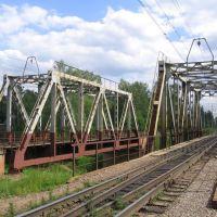 Железнодорожные мосты через реку Оредеж, Вырица