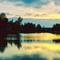 Вечер на реке, Вырица