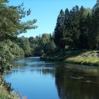 Река Оредеж, Вырица