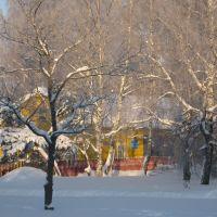 Зима - пожарная часть, Высоцк