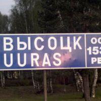 Городской причал, Высоцк