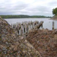 Remnants of the pier, Высоцк
