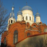 Gatchina. Pokrova Presvjatoj Bogoroditsys church., Гатчина