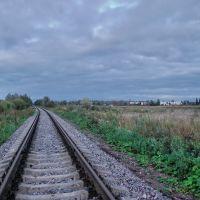Железная дорога в Дружную Горку, Дружная Горка
