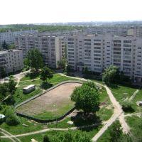 Вид с балкона, Дубровка
