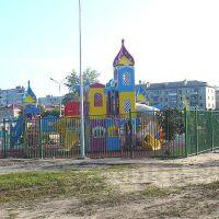 Детская площадка., Дубровка