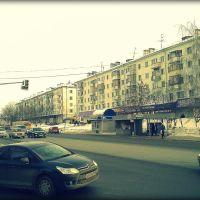 Улица Мира - центральная улица Дербышек., Дубровка