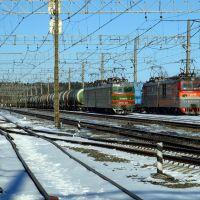 at station Efimovskaya, Ефимовский