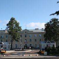 Square near station, Зеленогорск