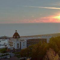 ЗЕЛЕНОГОРСК. Залив на закате. / The bay at sunset., Зеленогорск