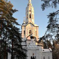 ЗЕЛЕНОГОРСК. Це́рковь Каза́нской ико́ны Бо́жией Ма́тери. / Zelenogorsk. Church., Зеленогорск