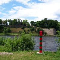 Граница с Эстонией  (24.06.2009), Ивангород