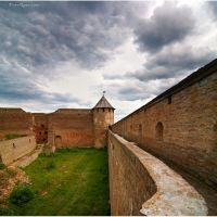 Fortress inside, Ивангород
