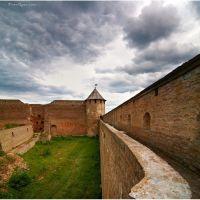 Fortress inside, Ивангород