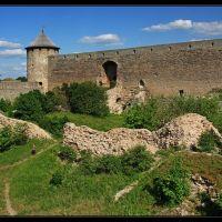 Руины первой крепости, Ивангород