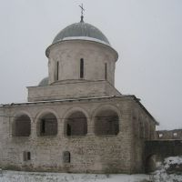 Ivangorod, the church of the Virgins Dormition (1558), Ивангород