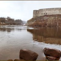 Castles of Narva (Estonia) and Ivangorod (Russia), Ивангород