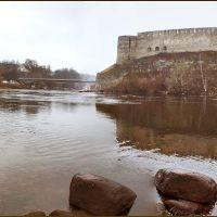 Castles of Narva (Estonia) and Ivangorod (Russia), Ивангород